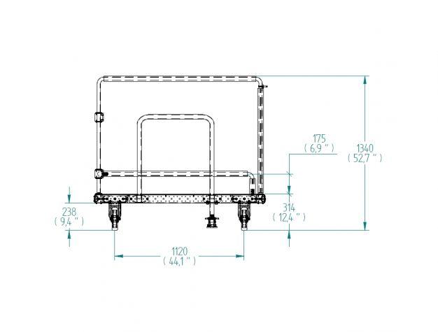 Cart for Door - 1470 x 1540 mm