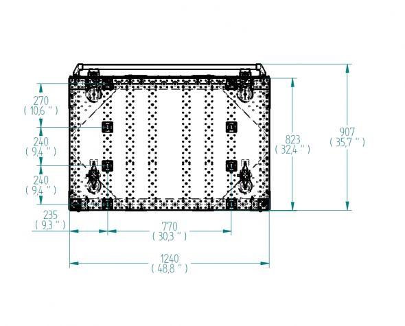 Kit Cart for Pallet Collar - 820 x 1240 mm