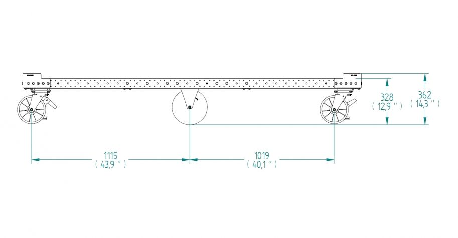 Pallet Cart - 1260 x 2380 mm