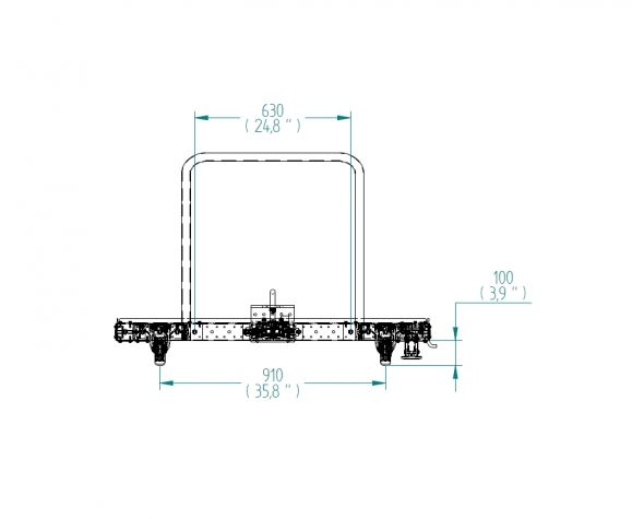 material handling cart design drawing