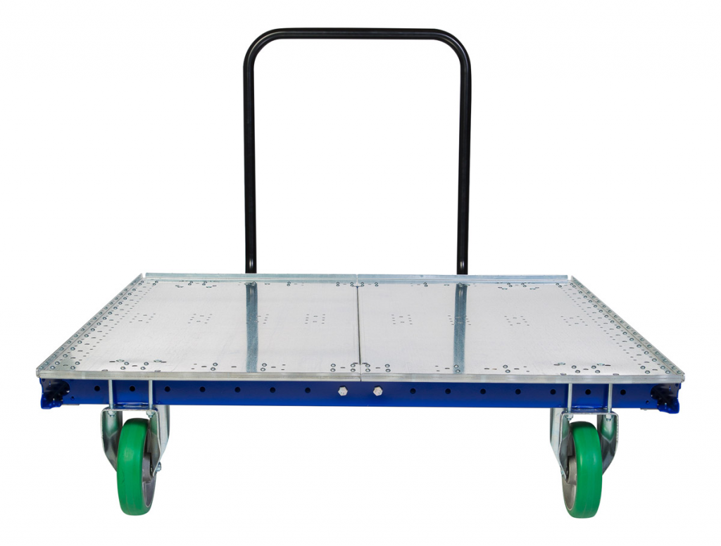 FlexQube push cart front on view