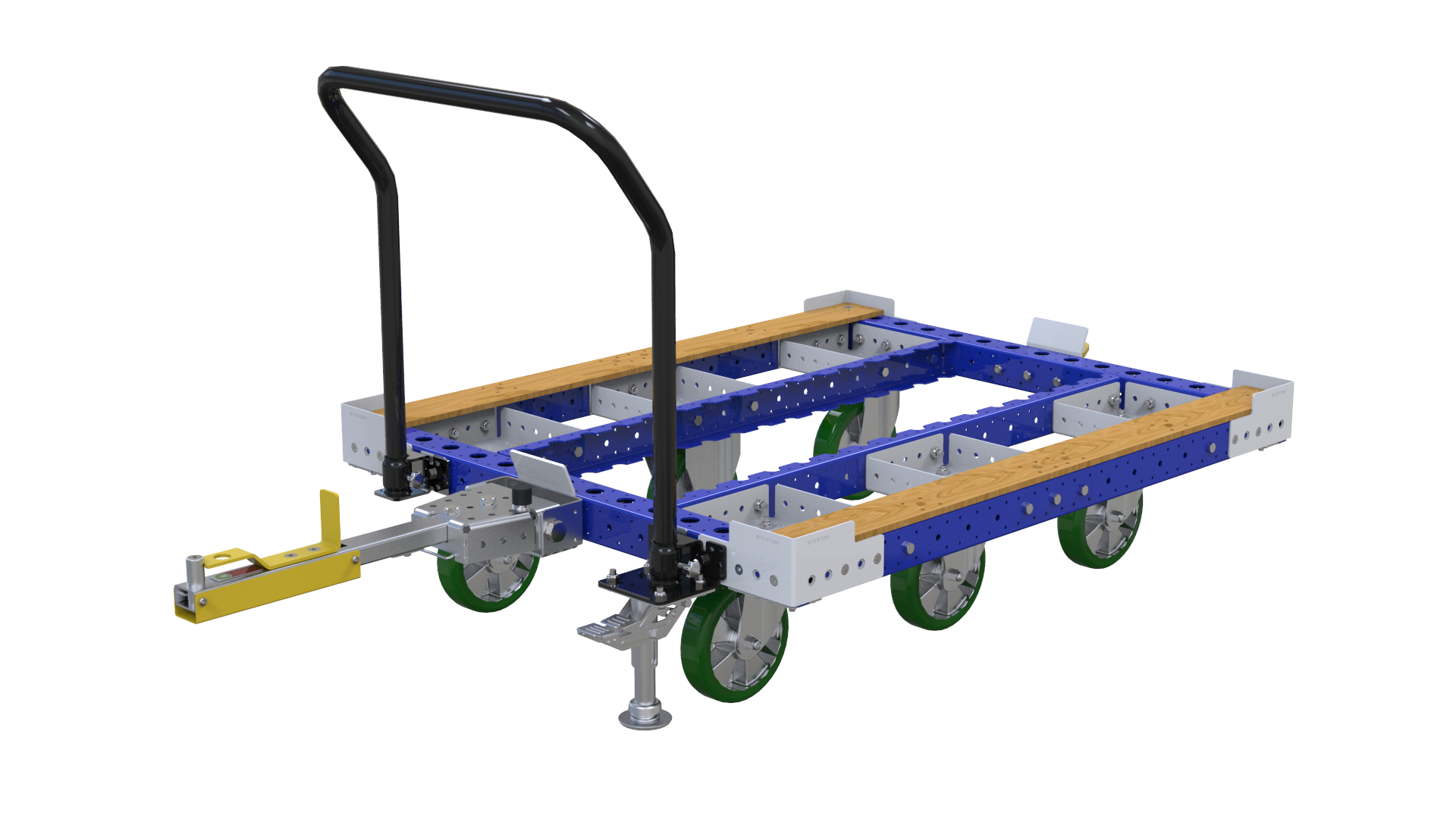 standard tugger cart designed by FlexQube