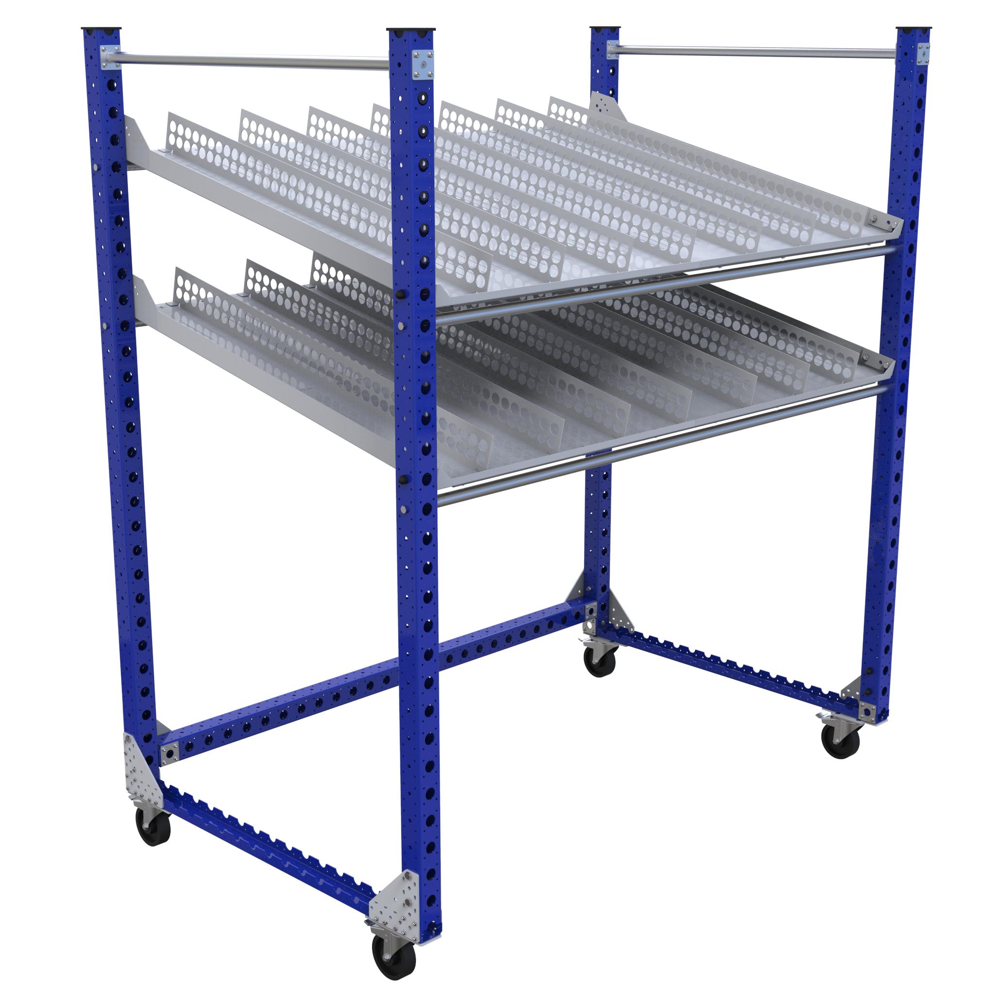 Flow Shelf Cart - 2030 x 1260 mm