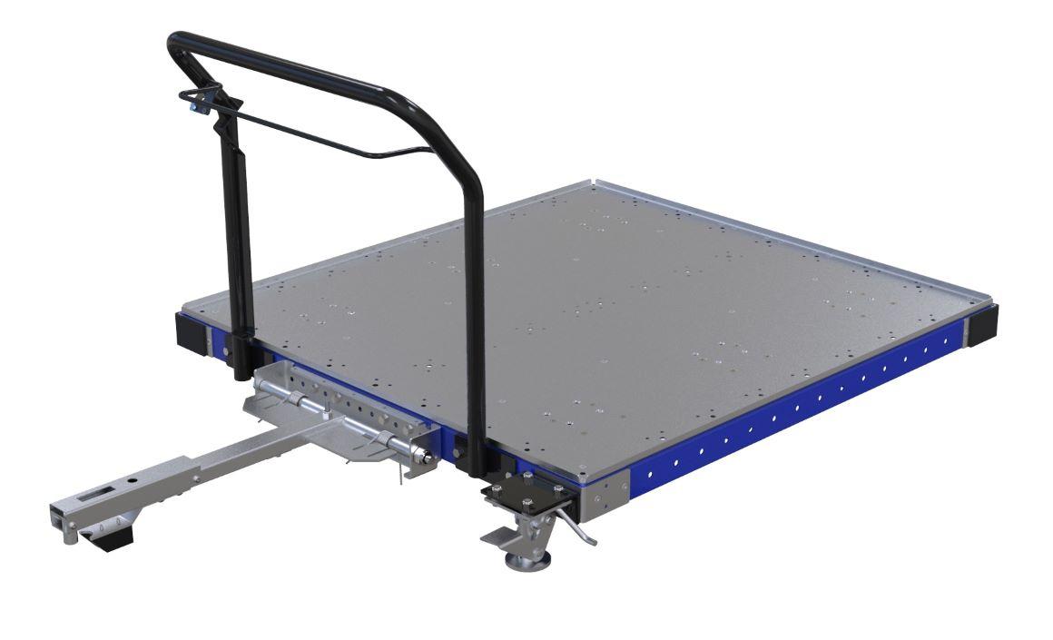 material handling low rider cart