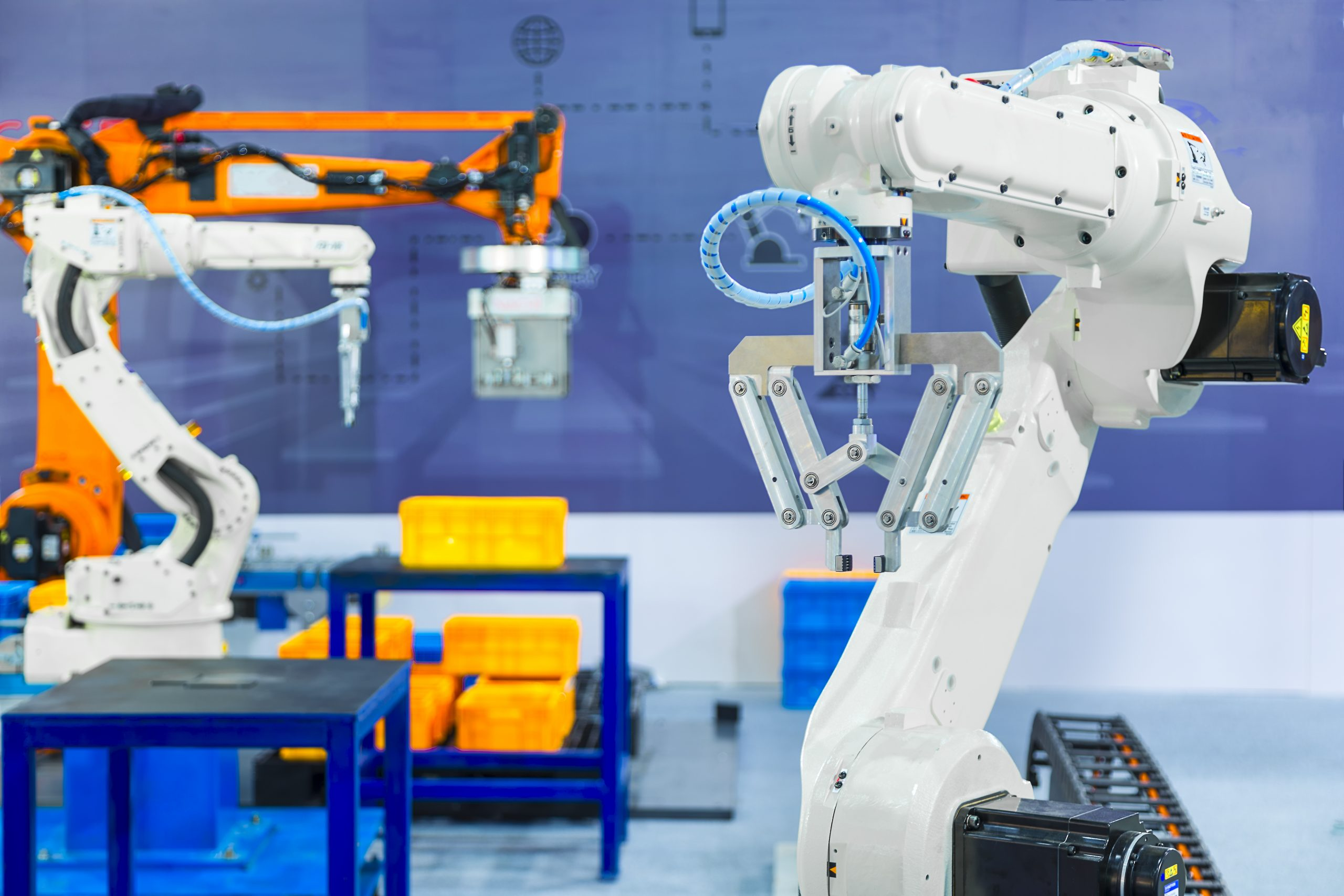 A Short Overview of Industrial Robots