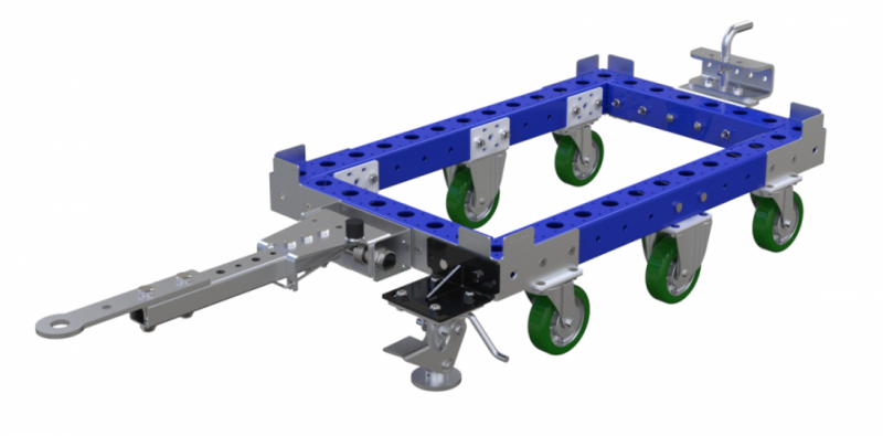 Small modular tote dolly by FlexQube