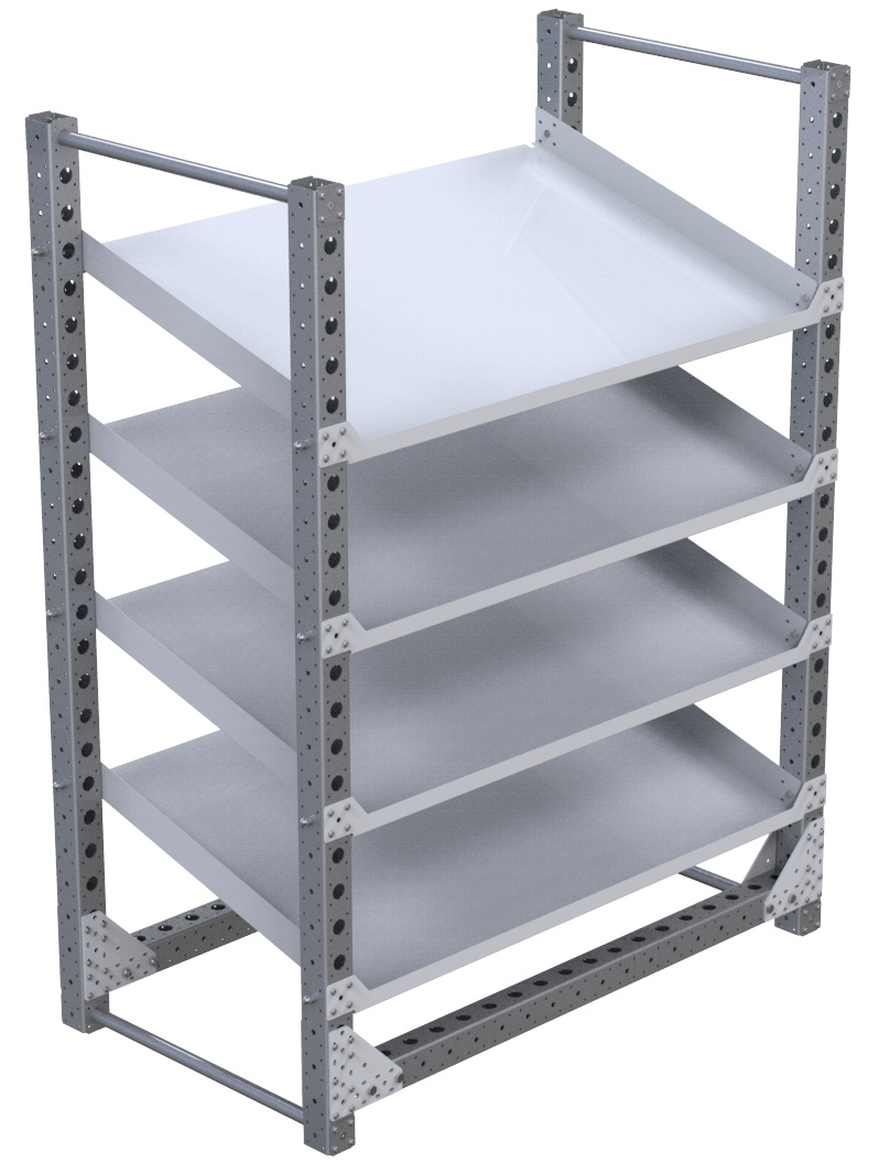 Flow Shelf Rack – 770 x 1400 mm